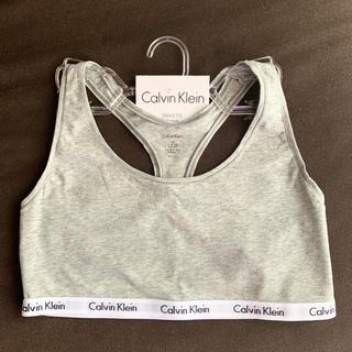カルバンクライン(Calvin Klein)のCalvin Klein カルバン・クライン☆グレー/Lサイズ(ブラ)
