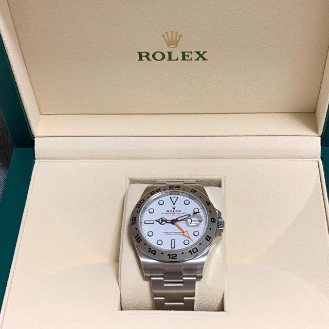 ロレックス 時計 コピー 原産国 | ROLEX - ロレックス エクスプローラー2 その2の通販 by エルメスちゃん's shop|ロレックスならラクマ