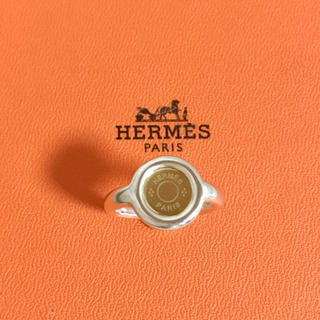 エルメス(Hermes)の正規品 エルメス 指輪 セリエ コンビ シルバー ゴールド 金 銀 丸 リング(リング(指輪))