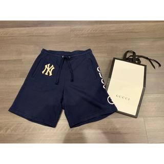 グッチ(Gucci)の国内正規品 グッチ NY ヤンキース ハーフパンツ ショートパンツ xs(ショートパンツ)