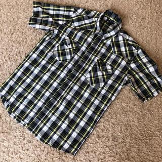 ジーユー(GU)の美品♡GUメンズチェックシャツ(シャツ)