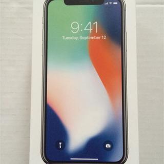 アップル(Apple)の★ iPhone X Silver 64 GB docomo 1台 ★(スマートフォン本体)