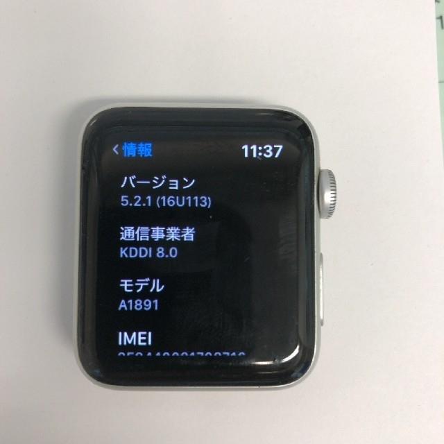 Apple Watch - アップルウォッチ3シリーズ セルラーモデルの通販 by SA's shop|アップルウォッチならラクマ