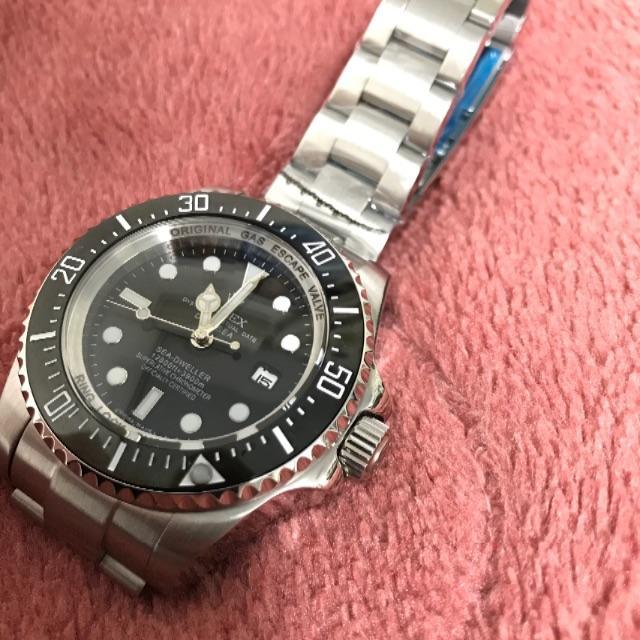グッチ 時計 偽物 見分け方 x50 - 腕時計 自動巻 シードゥエラー  ディープシー 116660の通販 by nichan's shop|ラクマ