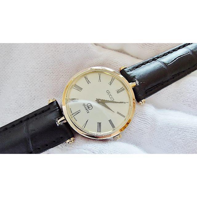 40c9046e803c Gucci - GUCCI グッチ 男性用 クオーツ腕時計 電池新品 B2094メの通販 by hana