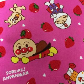 アンパンマン(アンパンマン)のアンパンマン 生地 はぎれ(生地/糸)