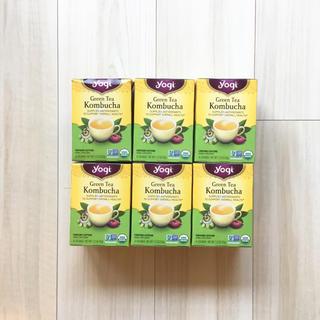 新品 yogitea ヨギティー kombucha 紅茶キノコ 6箱(茶)