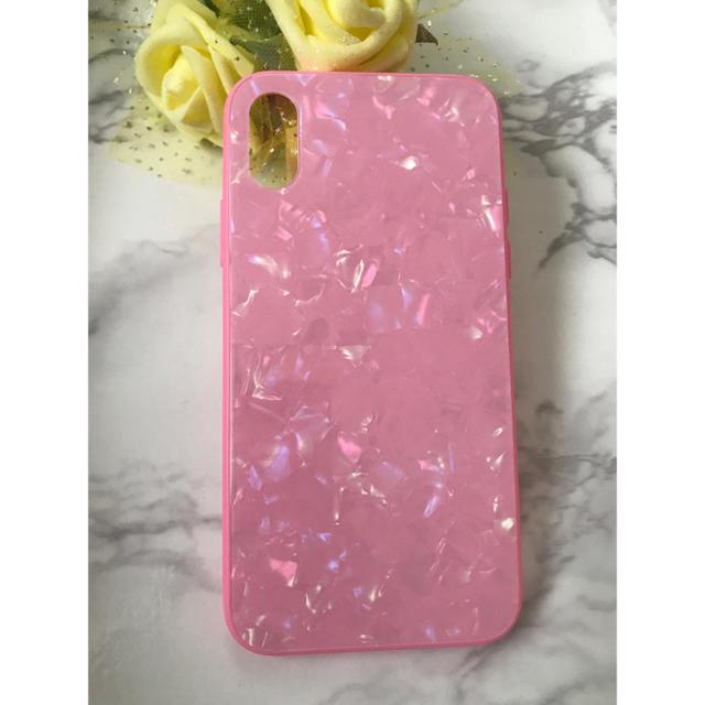 ディオール アイフォン8 ケース 革製 | 新作&人気!iPhoneX/Xs ガラスシェル 大理石風 カバーの通販 by yukino'shop|ラクマ