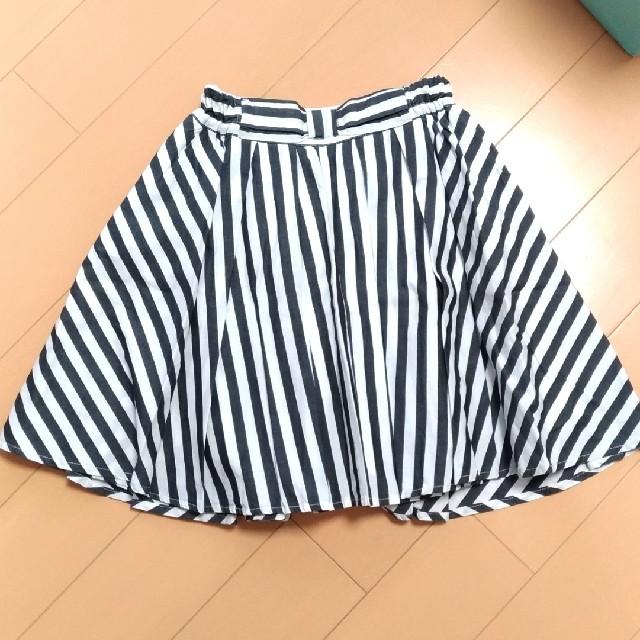 GU(ジーユー)のフレアスカート 140 キッズ/ベビー/マタニティのキッズ服 女の子用(90cm~)(スカート)の商品写真