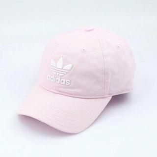 アディダス(adidas)のadidasOriginalピンク帽子(キャップ)