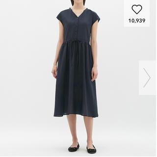 ジーユー(GU)のGU ワンピース 半袖 マタニティ 授乳服(マタニティワンピース)