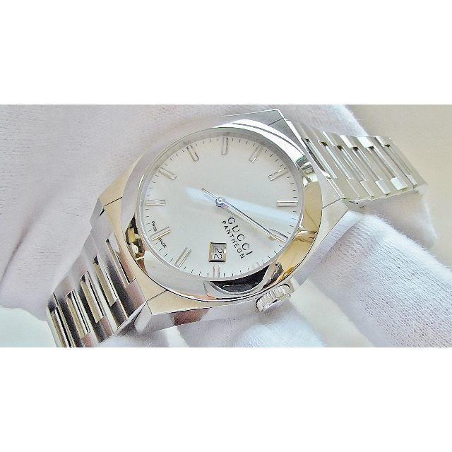 楽天 時計 偽物 996 | Gucci - GUCCI グッチ  115.2  男性用 クオーツ腕時計 電池新品 B2086の通販 by hana|グッチならラクマ