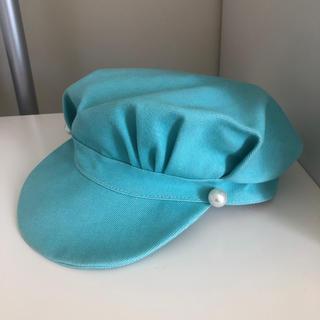 ミサハラダ(misaharada)のミサハラダ  帽子  伊勢丹購入  (ハンチング/ベレー帽)