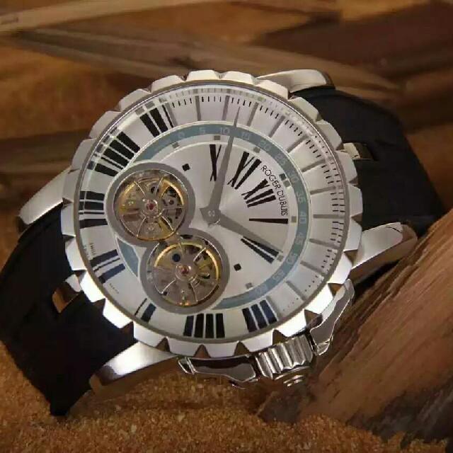 ROGER DUBUIS - ROGER DUBUIS メンズ腕時計 の通販 by mua|ロジェデュブイならラクマ