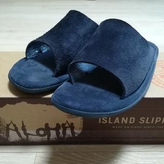 アイランドスリッパ(ISLAND SLIPPER)のISLAND SLIPPER × BEAMS 別注 スエード レザー  サンダル(サンダル)