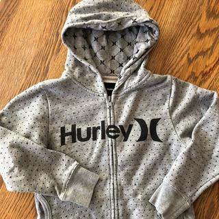 ハーレー(Hurley)のHurley  ハーレー キッズ パーカー 120センチ(ジャケット/上着)