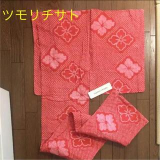 ツモリチサト(TSUMORI CHISATO)の☆新品タグ付き☆ツモリチサト 絞り 花菱柄 浴衣(浴衣)