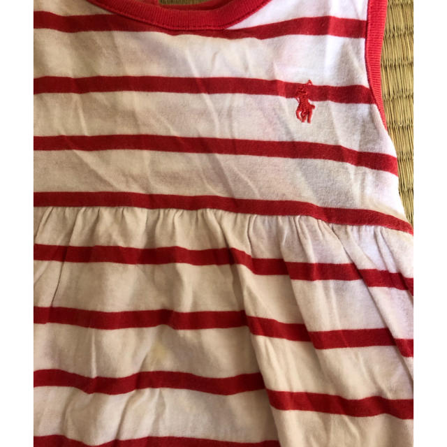 Ralph Lauren(ラルフローレン)のラルフローレン ブルマ付き ワンピース 18M キッズ/ベビー/マタニティのキッズ服 女の子用(90cm~)(その他)の商品写真
