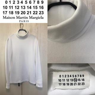 マルタンマルジェラ(Maison Martin Margiela)の早い者勝ち!マルタン マルジェラ 14 コットン タートルネック ニット 美品☆(ニット/セーター)