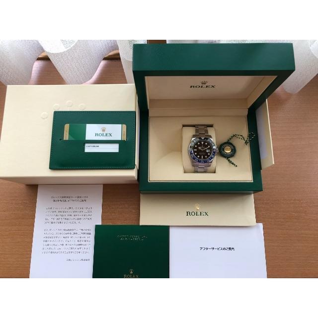 レプリカ 時計 ロレックスメンズ / ROLEX - ロレックス GMTマスターⅡ 付属品の通販 by パンダ's shop|ロレックスならラクマ