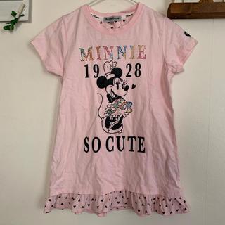 シマムラ(しまむら)のミニーちゃん♡ Tシャツ チュニック 150(Tシャツ/カットソー)