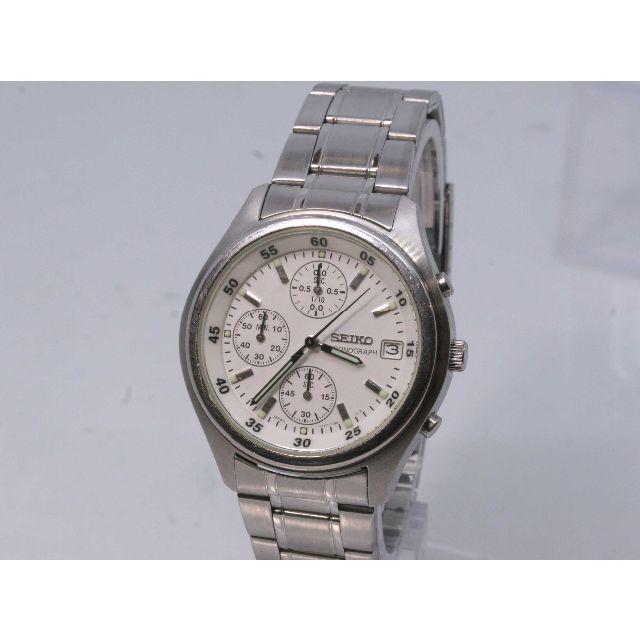 SEIKO - T-60 SEIKOクロノグラフV657-7100 メンズ腕時計の通販 by onedayoneday's shop|セイコーならラクマ
