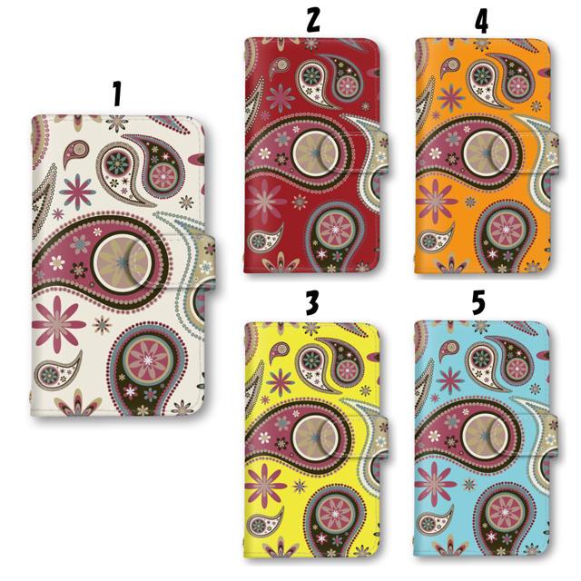 グッチ iphonexs ケース バンパー 、 スマホケース 植物 ペイズリー iPhoneケース 手帳型の通販 by ララ 's shop|ラクマ