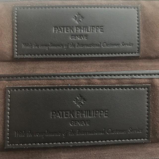 パネライ偽物 時計 品 | PATEK PHILIPPE - パテックフィリップ 腕時計ケース2つの通販 by ファイブ|パテックフィリップならラクマ
