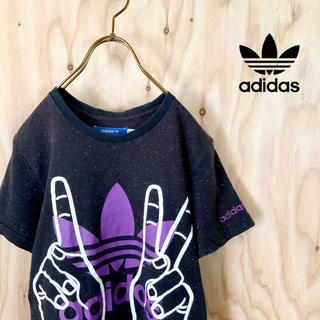 アディダス(adidas)の【希少】adidas originals ビッグプリント マルチカラー tシャツ(Tシャツ/カットソー(半袖/袖なし))
