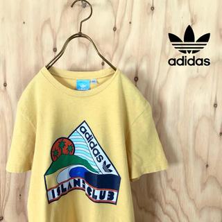 アディダス(adidas)のadidas originals オールドサーフ プリント  tシャツ イエロー(Tシャツ/カットソー(半袖/袖なし))
