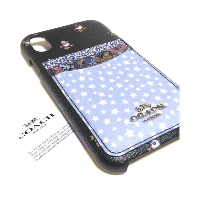 xperia ax ケース 花柄 - COACH - 24h以内発送★コーチ COACH iPhoneケース iPhoneXR ブルーの通販 by みい's shop|コーチならラクマ