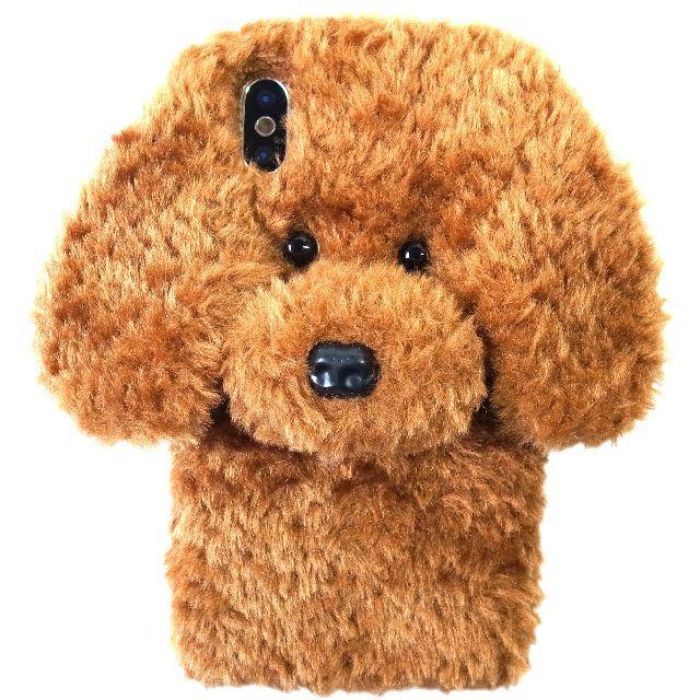 トイプードル ぬいぐるみ iPhoneケース 各種サイズあり ブラウンの通販 by まつ's shop|ラクマ