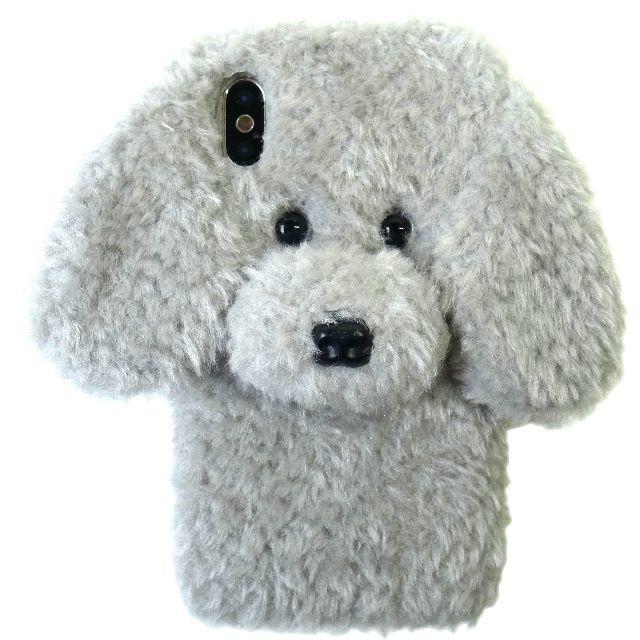 トイプードル ぬいぐるみ iPhoneケース 各種サイズあり グレーの通販 by まつ's shop|ラクマ