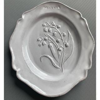 アッシュペーフランス(H.P.FRANCE)の新品未使用 アスティエ  ド ヴィラット  スズラン 皿 食器(食器)
