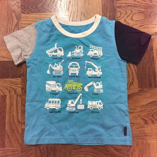 ベルメゾン(ベルメゾン)のベルメゾン はたらくくるま 半袖Tシャツ 110(Tシャツ/カットソー)