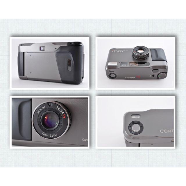 京セラ(キョウセラ)のContax T2 黒 コンタックス 美品 送料無料 動作品 スマホ/家電/カメラのカメラ(フィルムカメラ)の商品写真