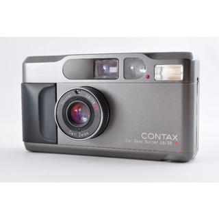 キョウセラ(京セラ)のContax T2 黒 コンタックス 美品 送料無料 動作品(フィルムカメラ)
