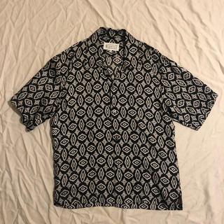 マルタンマルジェラ(Maison Martin Margiela)のMaison Margiela オープンカラーシャツ(シャツ)