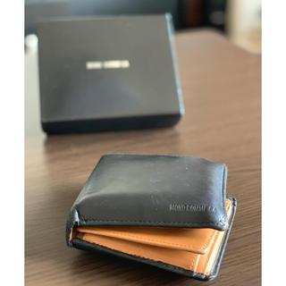 c470b4625e77 コムサイズム(COMME CA ISM)の【MONO COMME CA】ブラック×ブラウン 財布