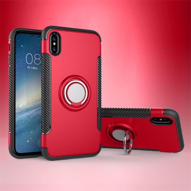 iphone8 ケース ベイ マックス - 新品!iPhoneXR  カッコいい リング付き耐衝撃ケース の通販 by yukino'shop|ラクマ