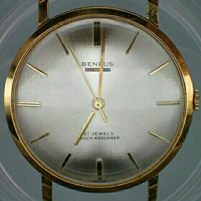 BENRUS - �ヴィンテージウォッ�60年代】BENRUS機械�時計�通販 by ジュエリーHESHIKI's shop|ベンラス�らラクマ