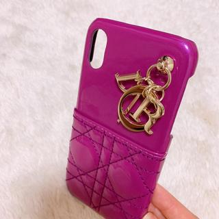ディオール(Dior)の♥️新品未使用!!iPhoneXs.Xr対応ケース♥️♥️(iPhoneケース)