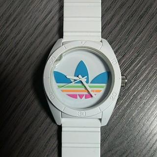 adidas - 訳あり アディダス 腕時計  ホワイト×レインボーカラー  ADH-2916