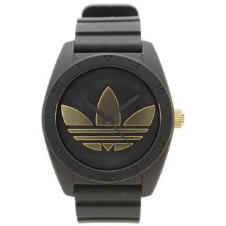 アディダス(adidas)の adidasアディダス☆黒×ゴールド腕時計(腕時計(アナログ))