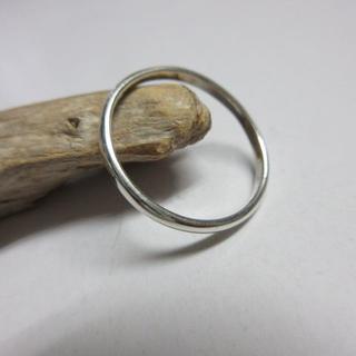 6号~30号 リング 指輪 シルバー925 エンゲージ 2mm d576(リング(指輪))