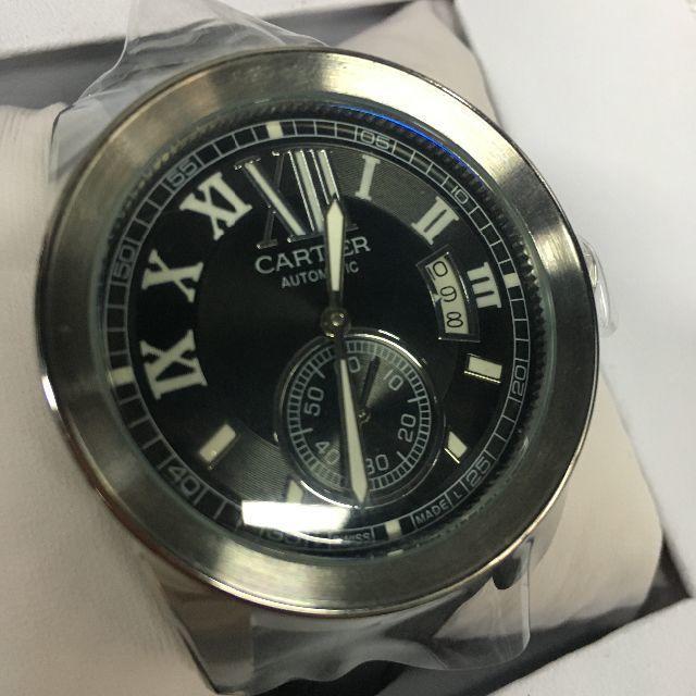 最高 時計 、 Cartier - カルティエ 腕時計 自動巻き メンズ 箱付きの通販 by abstra's shop|カルティエならラクマ