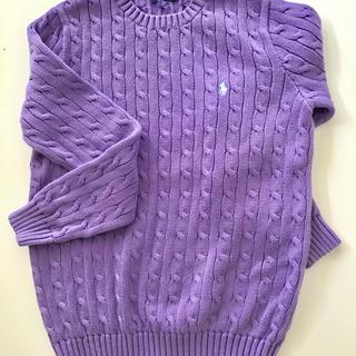 ラルフローレン(Ralph Lauren)のラルフローレン  長袖 綿セーター (L)(ニット/セーター)