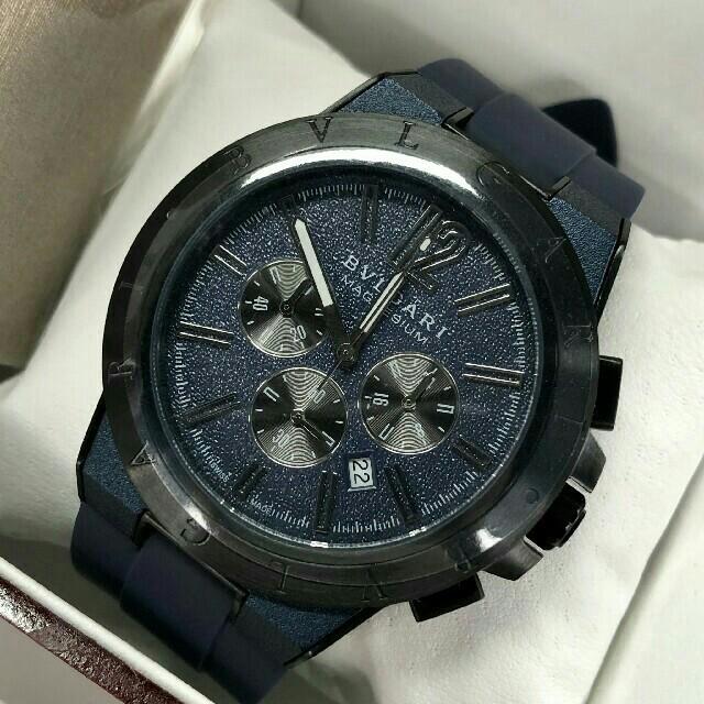 ブライトリング b01 、 BVLGARI - 美品時計 ブルガリ BVLGARI ディアゴノ ウルトラネロ メンズ 腕時計の通販 by はつこい 's shop|ブルガリならラクマ