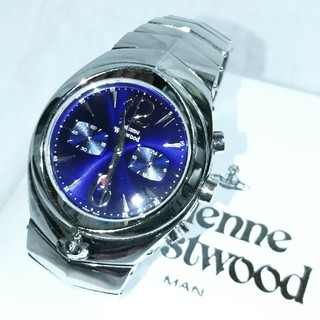 ヴィヴィアンウエストウッド(Vivienne Westwood)のVivienne Westwood MAN/アーマークロノグラフウォッチ(腕時計(アナログ))