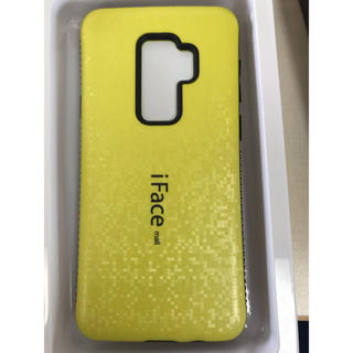de9c9e8bf1 ラメ版iFace mall GalaxyS9plusハードケース イエロー(Androidケース)
